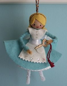 Alice for the tree...or gift tags