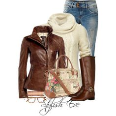 Browen Leather Jacket Outfit!