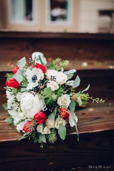 garden bouquet- bridal bouquet- wedding flowers- wintery wedding- winter wedding- white and red flowers- white and red bouquet- anemone bouquet- tulip bouquet- peony bouquet****************************************** Petal Patch Florist 3808 S Texas Ave Bryan, TX 77802 (979) 696-6713