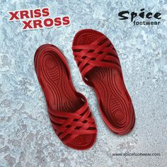 Moulded Xriss Xross designer #footwear collections for all the ladies are available at Spice Footwear. Contact us at www.spicefootwear.com today!!