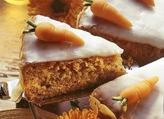 Aargauer Rüblitorte (carrotcake)  Betty Bossi Style