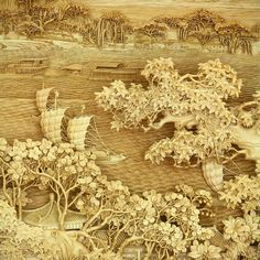 Conheça estes belíssimos entalhes em madeira feitos por artistas de região de Dongyang, China