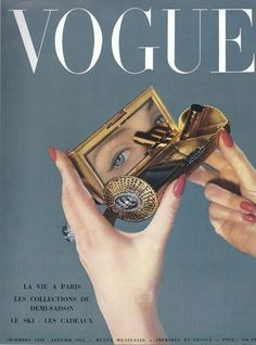 Vintage French Vogue. @thecoveteur
