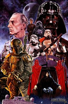 The Dark Side by Mark Brooks.
