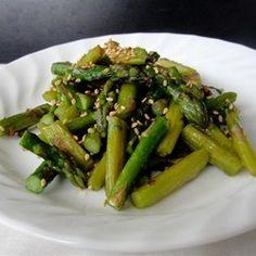 Stir-Fried Sesame Asparagus - Allrecipes.com