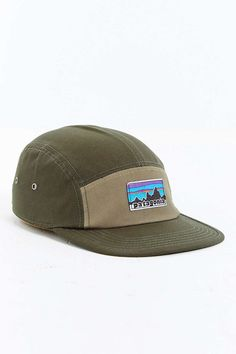 2a8472d0f0547 Patagonia Retro Fitz Roy Label 5-Panel Baseball Hat