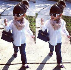 Baby Birkin Bag! www.littletrendsetter.com #babybirkin #littletrendsetter #fashionkids