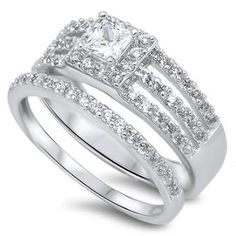 https://ariani-shop.com/925-sterling-silver-9mm-princes-cut-solitaire-wedding-ring-band-sets-engagement-ring-for-women 925 Sterling Silver 9mm Princes Cut Solitaire Wedding Ring Band Sets Engagement Ring For Women