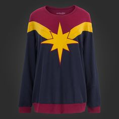 Welovefine:Captain Marvel Oversized Sweatshirt  3x   40 usd  5/5