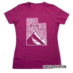 State runner everyday tees exclusively from GoneForaRun.com Utah Runner
