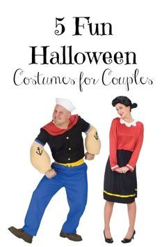 Whether it's a Halloween costume party or a trick-or-treat excursion, you never want to miss a chance to dress up in a ridiculous outfit. The only thing better than dressing up in a crazy costume is dressing up in a matching set of costumes with your loved one. You can be the Wilma to his Fred, or the Popeye to her Olive Oyl. Check out eBay's guide to the best matching Halloween costumes for couples.