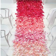 Love the ombré wedding trend