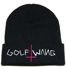 New Hip-Hop Unisex chic OBEY GOLF WANG Beanies Men's Cotton knit caps wool Hats