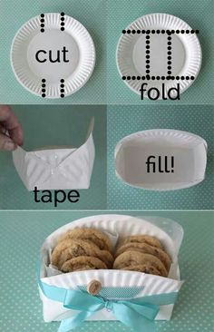 Easy and a good idea keeping cookies separate so different cookie flavors do not transfer to each other. Nothing worse than eating a Christmas sugar cookie that was sitting next to Grandmas ginger cookie.