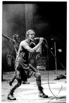 Nine Inch Nails at Woodstock '94.