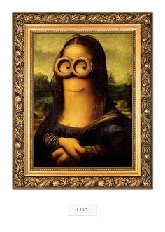Los Minions en el Arte desde 1517