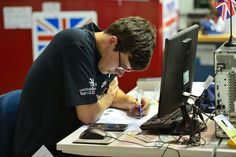 Day 1 of competitions: Michael Watson - CNC Milling