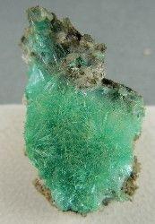 Aurichalcite (zinc/copper/carbon). Arizona