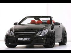 Самый мощный и быстрый четырехместный кабриолет BRABUS 800 E V12 Cabriolet
