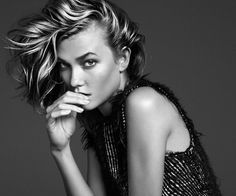 Karlie is such a gift. She poses as if she's studied the Supers in some sort of secret school for Witchcraft & Supermodeldom. All her lines are so gorgeous and she gives face like no current mo...
