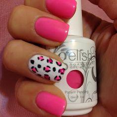 Gelish Neon Pink