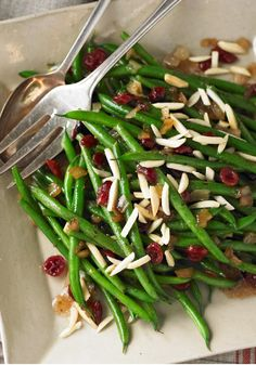 Balsamic-Glazed Green Beans — It only takes 20 minutes to prepare this impressive healthy living side dish recipe that is sure to be a guest favorite at your holiday dinner party.