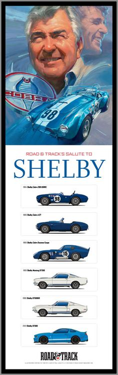 The Great Carroll Shelby!
