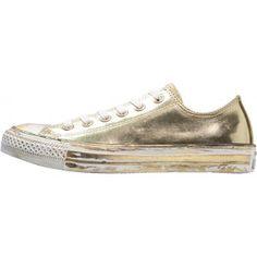 Gezien op Beslist.nl: Converse CHUCK TAYLOR ALL STAR Sneakers laag gold/white/black