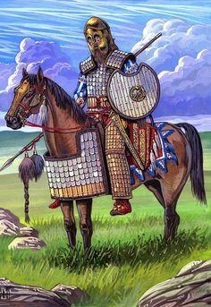 Scythian noble warrior
