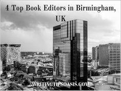 4 Top Book Editors in Birmingham, UK