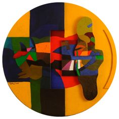 Sunny Day, 2009 (Dia Al-Azzawi), Courtesy of Galerie Claude Lemand @ Art Paris Art Fair - 27th > 30th March 2014 - Grand Palais - http://www.artparis.com/fr/artwork/7HPbe49h