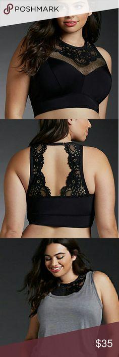 15% off bundles today only! Torrid Bralette black Nwt stunning Torrid Bralette torrid Intimates & Sleepwear Bras