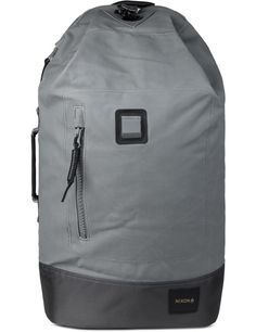 Nixon Grey Origami Backpack | HBX.