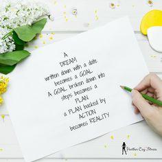 Write Those Dreams Down!