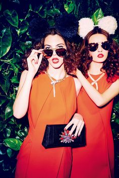 Fun Time in Montenapoleone: Anna Grostina and Vittoria Ceretti by Ellen von Unwerth for Vogue Japan September 2015