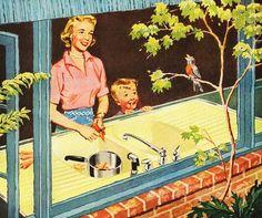 Sign of Spring - Kohler Sink ad