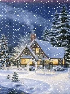 Good Snap Shots christmas scenes Tips 'Ienc that will holiday yet again! This Holiday, all of us strive to be not only your ticketing partner. Christmas Scenes, Christmas Art, Beautiful Christmas, Winter Christmas, Winter Snow, Christmas Glitter, Snow Pictures, Glitter Pictures, Holiday Pictures