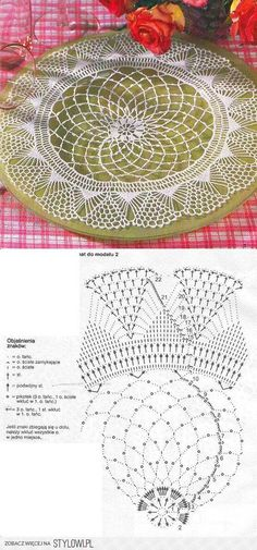 This Pin was discovered by Joa Crochet Books, Crochet Art, Crochet Round, Crochet Home, Thread Crochet, Vintage Crochet, Crochet Coaster, Irish Crochet Patterns, Crochet Doily Diagram