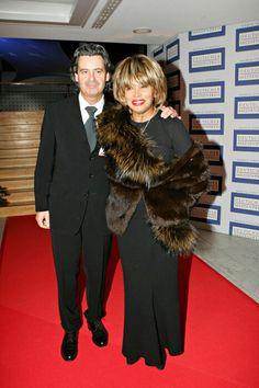 Tina Turner and husband Erwin Bach