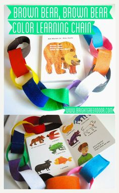 Brown Bear, Brown Bear Color Learning Chain