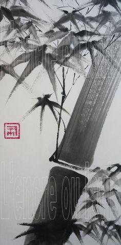Bambou majeur vif 23x50