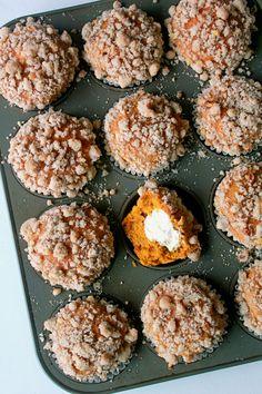 Pumpkin Cream Cheese Muffins