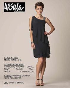 Ursula 11259 Mothers Dress-Missy Short