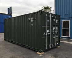 Shipping containers for sale at great prices, deals available on shipping containers of all sizes, new and used shipping containers for sale! 40ft Container, Shipping Container Design, Shipping Containers For Sale, Cargo Container Homes, Shipping Container House Plans, Container House Design, Container Gardening, Container Conversions, Dome House