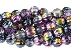12mm AB Crystal Czech Glass Beads Faceted Round Fire Polished Vintage Style Crystal Bead for Stretch Bracelet Supplies Earrings Jewelry 10