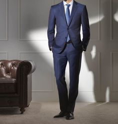 Dormeuil Mode Campaign for the collection Slim Suit, Luxury Fashion, Mens Fashion, Fashion Advertising, Suit And Tie, Men Looks, Mens Suits, Gentleman, Suit Jacket