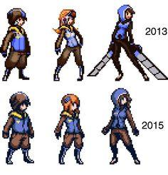 Sprites, Character Concept, Character Art, Character Design, How To Pixel Art, League Of Legends, Pix Art, Pixel Animation, Pixel Art Games