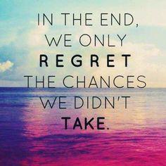 Al final del camino solo lamentamos las oportunidades que perdimos; los riesgos que no asumimos. #connectwithypurmisma #ceroarrepentimiento