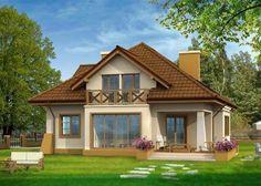 Modern Bungalow House, Bungalow House Plans, Cottage House Plans, Cottage Homes, Home Design Floor Plans, Dream Home Design, My Dream Home, Villa Design, House Design