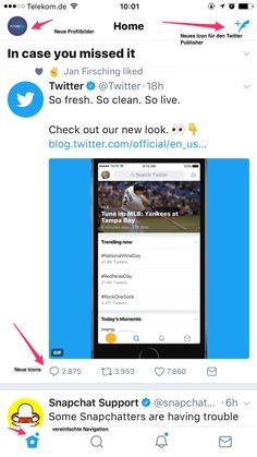 Neues Twitter Design veröffentlicht: Updates für die Twitter Timeline und Profile